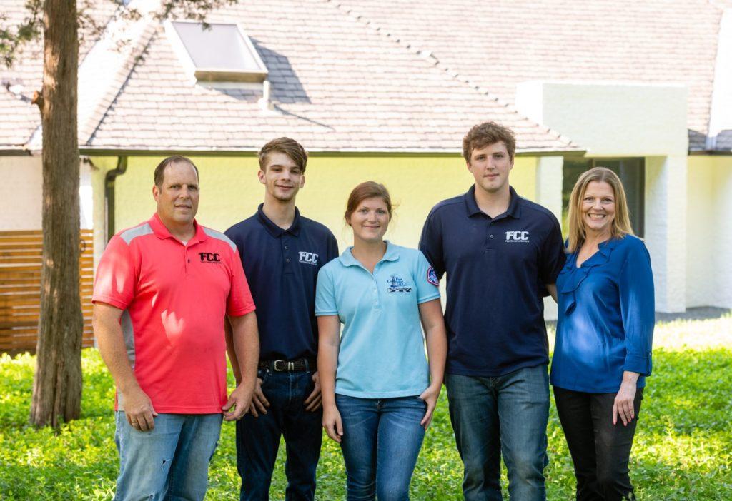 First Construction team