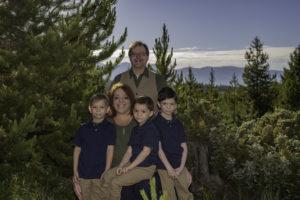 Nicole Prescott and her family