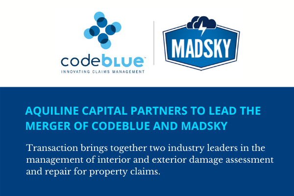 Aquiline Capital Partners To Lead The Merger Of CodeBlue And MADSKY-10